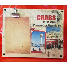 Crabs Canvas Clip Frame