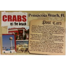 Crabs Full Color Postcard