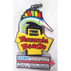Pensacola Beach Sign Ornament